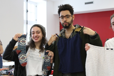 Vide-dressing on campus - 21 février 2017 (7)